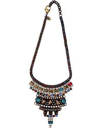 Iosselliani Crystal Necklace - Lyst