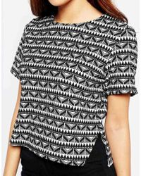 Wal-G - Shell Top In Geo Print - Lyst