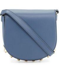 Alexander Wang - Lia Mini Leather Saddle Bag - Lyst