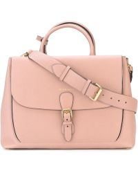 Burberry - Large 'saddle' Tote - Lyst