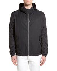 HUGO | 'bakor' Slim Fit Hooded Jacket | Lyst