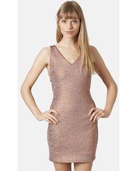 Topshop Women'S Racerback Body-Con Dress - Lyst