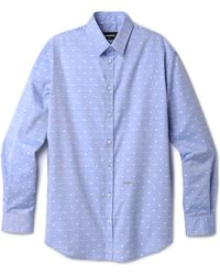 DSquared2 Dan Relaxed Oxford Shirt - Lyst