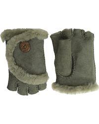 Ugg Mini Bailey Fingerless Gloves - Lyst