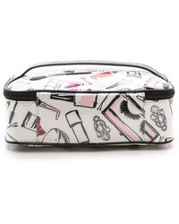 Kate Spade Shelby Drive Berrie Cosmetic Case  - Lyst