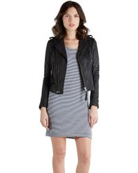 Joie Ailey Leather Jacket - Lyst