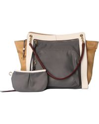 MZ Wallace - Fiona Tri-Color Bedford - Lyst