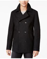 BOSS | Wool-blend Beven Coat | Lyst