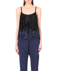 Dries Van Noten Nepalese Ribbon-Detail Knitted Top - For Women - Lyst