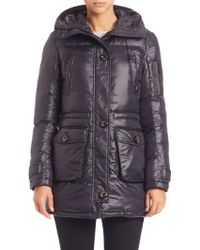 Canada Goose womens outlet authentic - Altuzarra Hastings Long Shearling Fur-Trimmed Parka in Green (ARMY ...