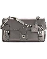 Ralph Lauren Metallic Ricky Id Chain Bag - Lyst