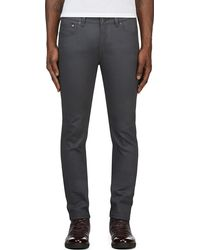 Acne Studios Grey Ace Jeans - Lyst