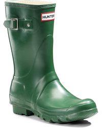 Hunter | Original Short Rain Boots | Lyst
