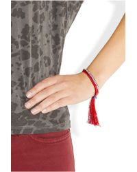 Alyssa Norton - Diamantã and Braided Silk Friendship Bracelet - Lyst