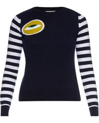 Esk - Eye Intarsia-knit Cashmere-knit Sweater - Lyst
