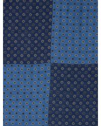 Gucci Medallion-Print Linen-Blend Scarf - Lyst