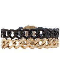 Michael Kors Chain Wrap Bracelet - Lyst