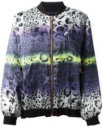 Avelon - Leopard Print Bomber Jacket - Lyst