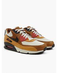 Nike Men'S Brown Air Max 90 Qs Escape Sneakers - Lyst