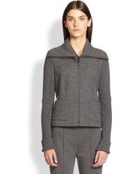ESCADA Virgin Wool & Cashmere Knit Jacket - Lyst