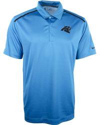 Nike Mens Carolina Panthers Dri-fit Polo - Lyst