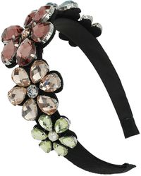 Topshop Flower Stone Headband - Lyst