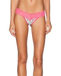 Hanky Panky Low Rise Fruit Salad Thong - Lyst