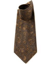 Valentino Vintage Paisley Print Tie - Lyst