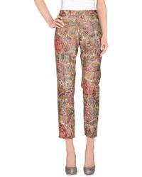 Massimo Alba Casual Pants pink - Lyst