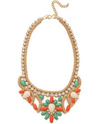 Kenneth Jay Lane - Crystal Woven Necklace - Lyst