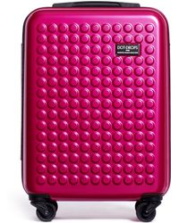 """Dot Drops - X-tra Light 21"""" Carry-on Suitcase - Metallic Pink - Lyst"""
