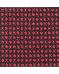 Paul Costelloe - Geometric Silk Tie - Lyst