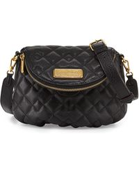 Marc By Marc Jacobs New Q Quilted Natasha Crossbody Bag - Lyst