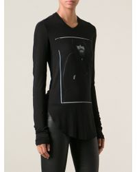 Lost and Found Hooded Character Print Tshirt - Lyst