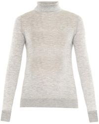 The Row Linden Cashmere And Silk-Blend Sweater - Lyst