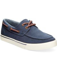 Tommy Hilfiger Roberto Boat Shoes - Lyst
