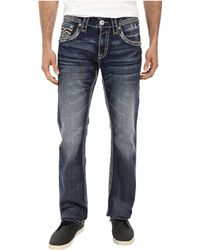 Rock Revival Nathan J4 No Flap Straight Jean - Lyst