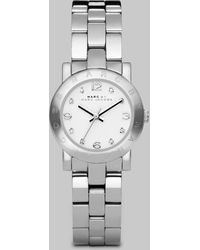 Marc By Marc Jacobs Amy Glitz Stainless Steel Bracelet Watch - Lyst