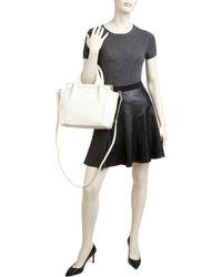Foley + Corinna - Satchel - Framed Mini Shopper Embossed - Lyst