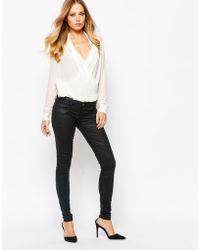 SuperTrash - Peppy Coated Skinny Jeans - Lyst