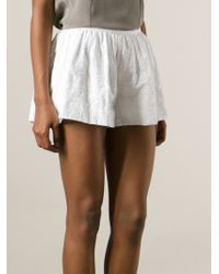 Thakoon - Broderie Anglaise Shorts - Lyst