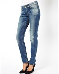 Levi's Levis Demi Curve Skinny Jeans - Lyst