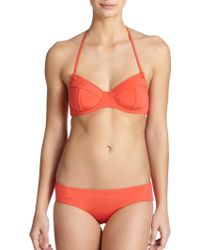 Zimmermann Essence Peak Bikini Top - Lyst