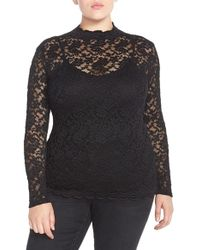 Carmakoma - Lace Mock Neck Top - Lyst