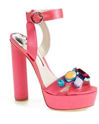 Sophia Webster 'Amanda' Platform Sandal - Lyst