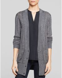 French Connection Cardigan  Deconstructed Knits - Lyst