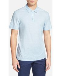 Zachary Prell 'Cannes' Cotton Jersey Polo - Lyst