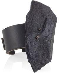 Noritamy - Black Rock Bracelet - Lyst