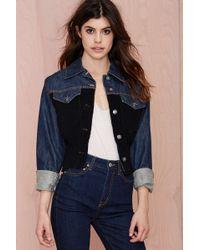 Nasty Gal Vintage Jean Paul Gaultier Renegade Denim Jacket blue - Lyst