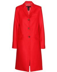 Marc By Marc Jacobs Hiro Wool Coat - Lyst
